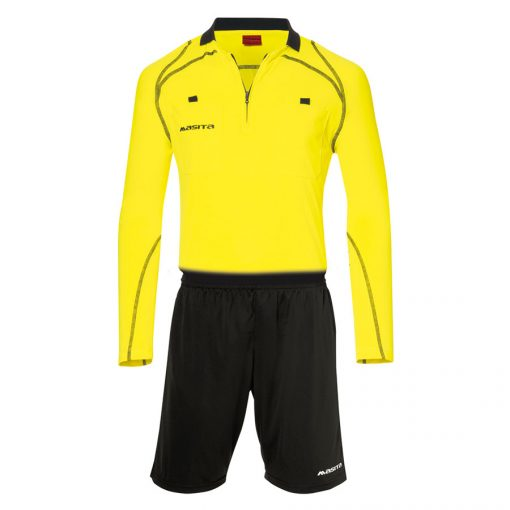Masita Scheidsrechterset LM Yellow-0