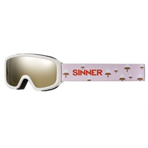 Sinner Duck Mountain Matte Junior Skibril-0