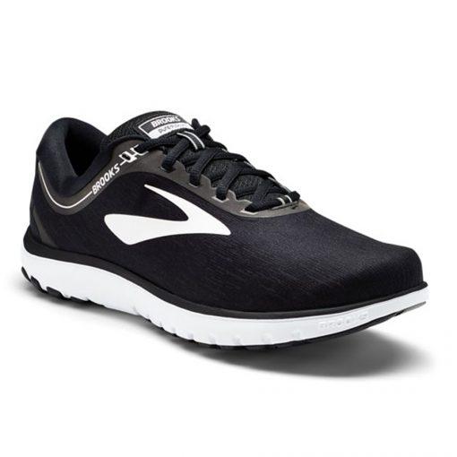 Brooks Pureflow 7 Heren Hardloopschoenen Zwart Wit