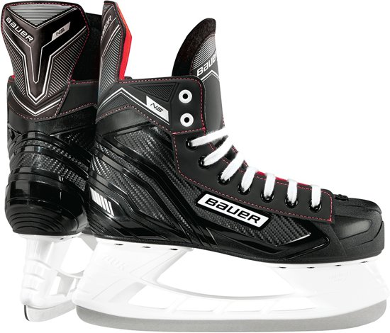 Bauer NS Ijshockeyschaats Zwart Wit Rood