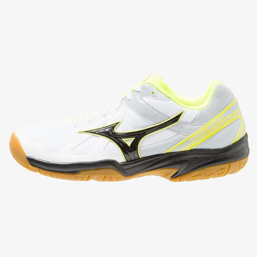 buy online a51d5 d86b1 Mizuno Cyclone Speed Indoorschoenen Wit Zwart Geel