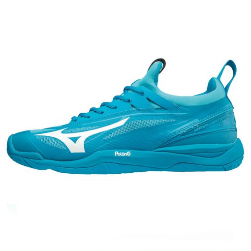 Mizuno Wave Mirage 2 Heren Indoorschoenen Blauw Wit