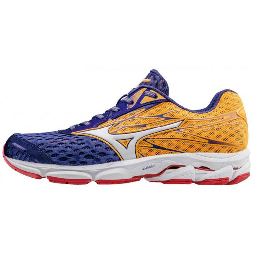 Mizuno Wave Catalyst blauw oranje wit